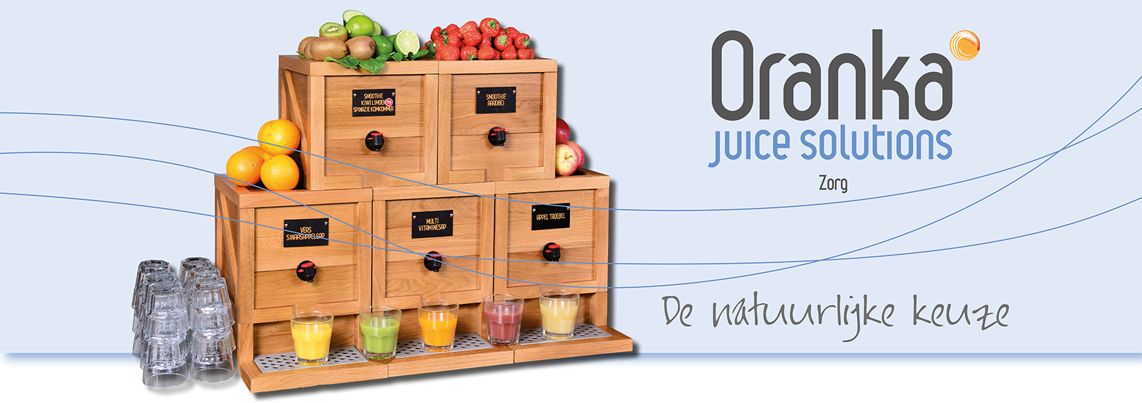 Oranka Juice Solutions - footer zorg